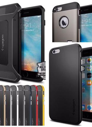 Чехол Spigen Thin Fit Hybrid Neo для iPhone 5 6 6S 7 8 Plus 6+...