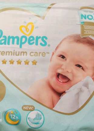 Подгузники Pampers premium care 5ка, 28шт.