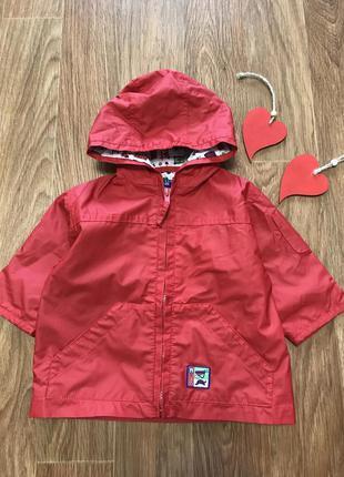 Крутая куртка дождевик на хб подкладке