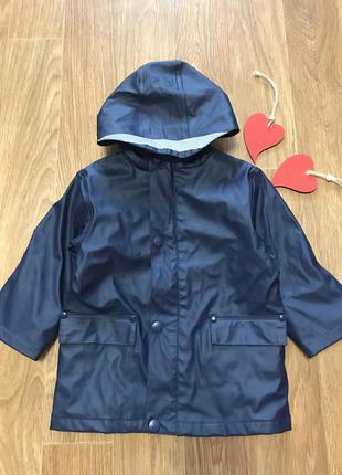 Крутая куртка дождевик грязепруф на хб подкладке ветровка