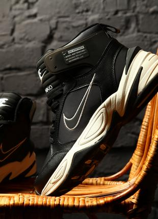 "Мужские термо Nike M2K Tekno Winter ""Black/White"" (Топ качество)"