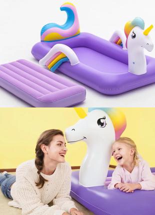 Детская надувная двуспальная кровать