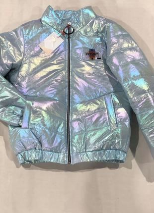 Бомбер, куртка демисезонная для девочки