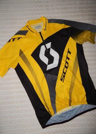 Scott велоджерси джерси футболка для спорту