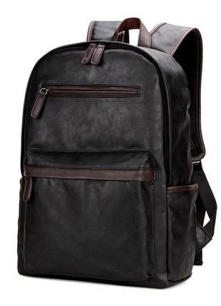 Мужской рюкзак городской polo vicuna (v5503) черный