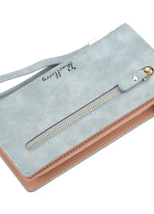 Женский кошелек портмоне baellerry (n1608) голубой