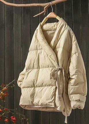 Куртка на запах деми