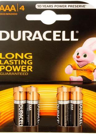Батарейки ААА Duracell Turbo Max блистер (4 шт.)