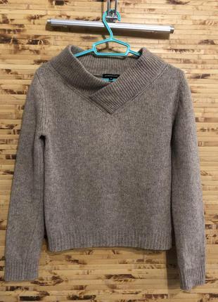 Свитер пуловер кофта massimo dutti коричневого цвета