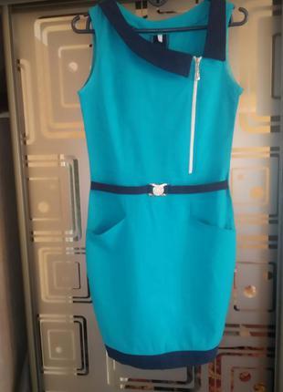 Летнее женское легкое платье