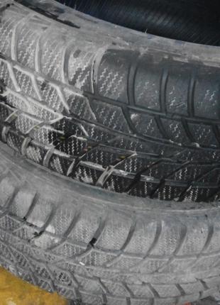 Hankook 185.65 R14 зимова резина пара 2015року 7.5мм
