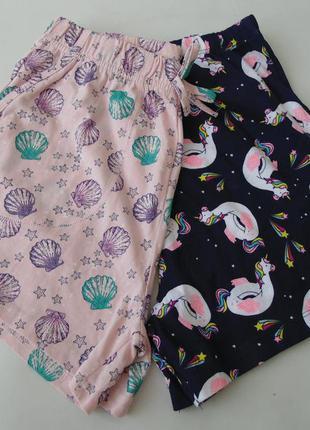 Пижама набор 2 ед. пижамные шорты primark 9-10 лет 140 см