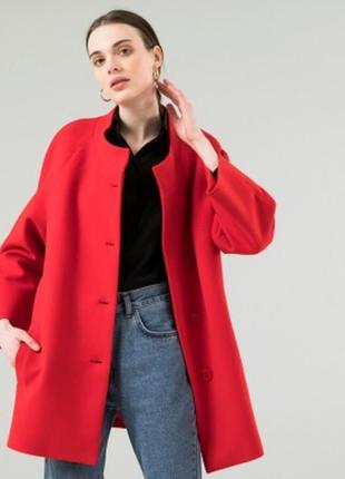 Короткое пальто беатрис season красного