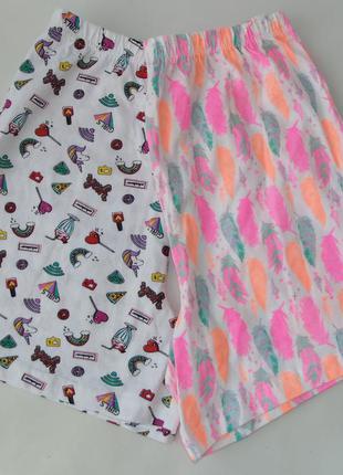 Пижама набор 2 шт. пижамные шорты primark 11-12 лет