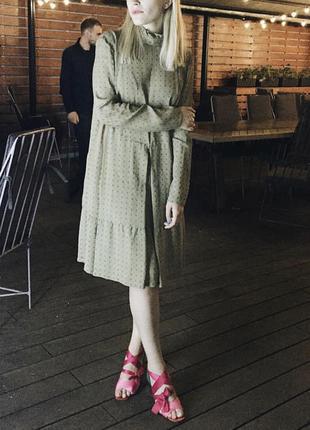 Платье свободного кроя ETER