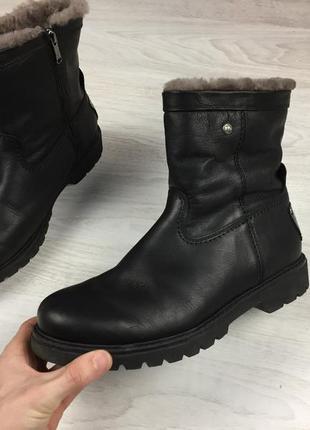 Крутые фирменные мужские ботинки кожаные panama jack зимние ba...
