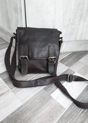 Мужская кожаная сумка the chesterfield brand