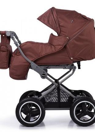 Разные цвета! Универсальная коляска TILLY Family, люлька+прогу...