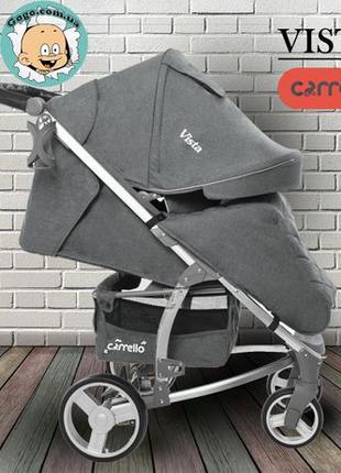 Супер цена! Детская прогулочная коляска Carrello Vista! Самовывоз
