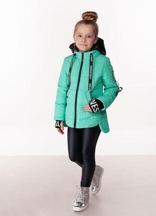 Betty - детская демисезонная куртка, цвет мята