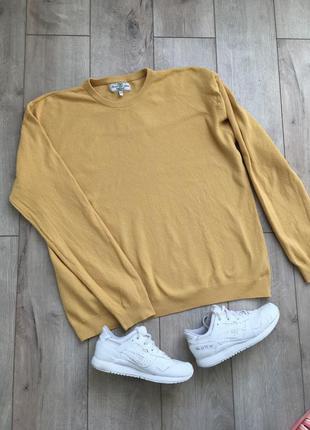 Вафельный свитер next{ 100% хлопок}