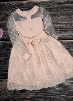 Нежное платье для модниц