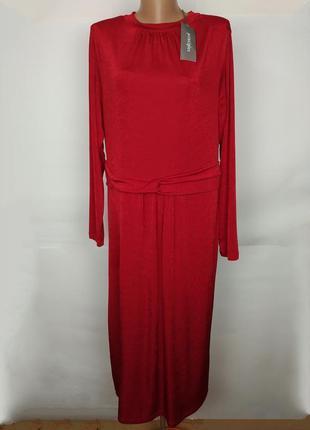Платье красное новое шикарное большого размера uk 18/46/xxl