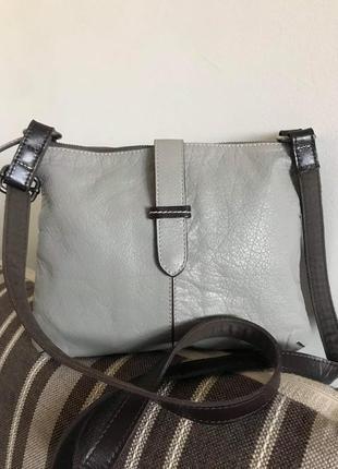Кожаная сумка кроссбоди white stuff