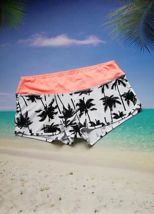 Плавки-шортики lepel в пальмы