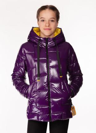 Inga - детская демисезонная куртка, цвет сиреневый