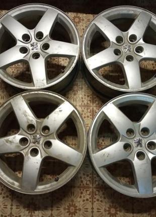 ЛИТЫЕ диски Peugeot 407 R16 5x108