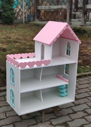 В наличии! Кукольный домик модель Дженни ляльковий будинок лол