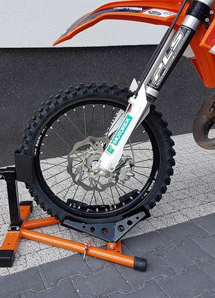 Подставка для переднего колеса мотоцикла.