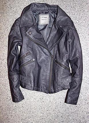 Куртка кожанка косуха одежда 5-6 лет некст next