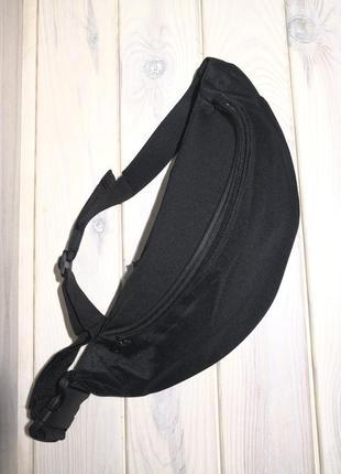 Сумка бананка на пояс поясная сумка черная №2 probeauty