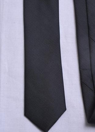 Фактурный тонкий галстук f&f