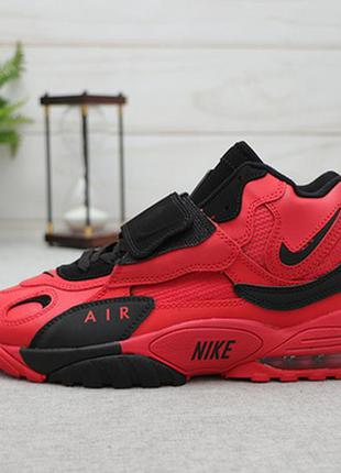 Кроссовки nike air max speed turf red black red