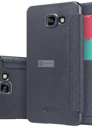 Фирменный чехол книжка Nillkin для Samsung Galaxy A5 2016 A510 F