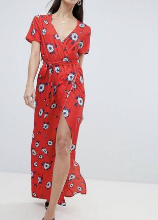 Платье миди бренда boohoo (2267)