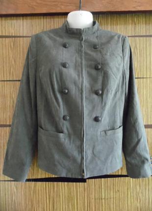 Куртка жакет деми, новый isle размер 14 – идет на 48-50.