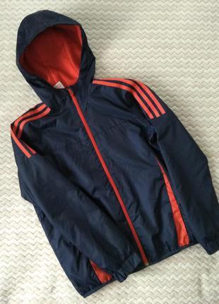 Куртка курточка ветровка adidas