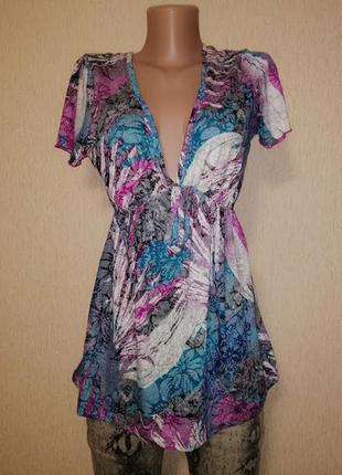 🔥🔥🔥красивая женская футболка с глубоким вырезом, блузка per un...
