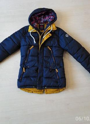 """Зимняя куртка мужская G.N.C типа """"аляска"""" размер L"""