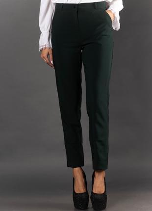 Женские офисные брюки с карманами 2008