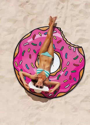 #розвантажуюсь покривало на пляж, подстилка на пляж, круглый п...