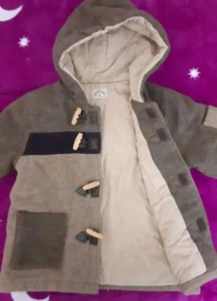 Пальто драповое на мальчика или девочку