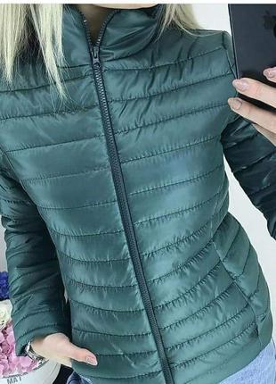 🔥новинка🔥 демисезонная куртка хаки/42-54р./самые низкие цены🤑🙀