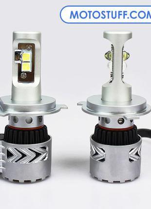 Автомобильные LED лампы комплект H4 G8 / 6000 Лм / 36 Вт