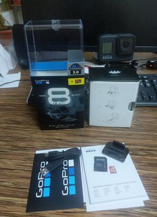 Экшн-камера GoPro Hero 8 Black