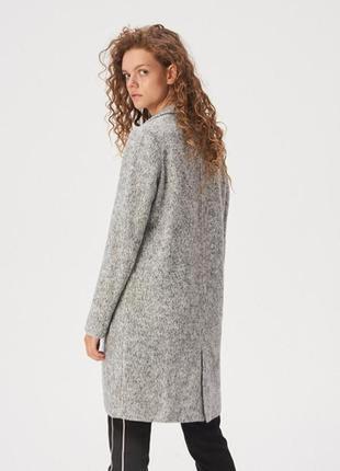 Шикарное мягенькое пальто/размер с sinsay